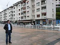 Miguel en Amaña, el barrio donde creció