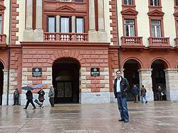 Miguel entró como concejal del Ayuntamiento de Eibar en 1995