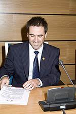 El 30 de mayo de 2008, en el Pleno de Investidura